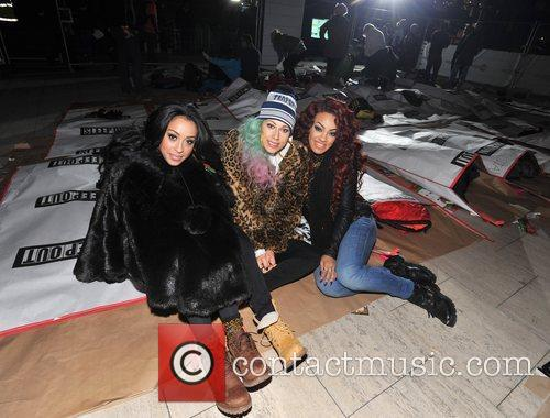 Karis Anderson, Courtney Rumbold, Alexandra Buggs and Stooshe 7