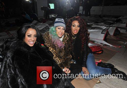Karis Anderson, Courtney Rumbold, Alexandra Buggs and Stooshe 2