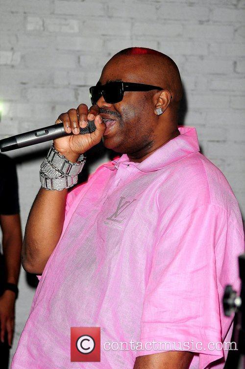 Slick Rick performs at Club Rush