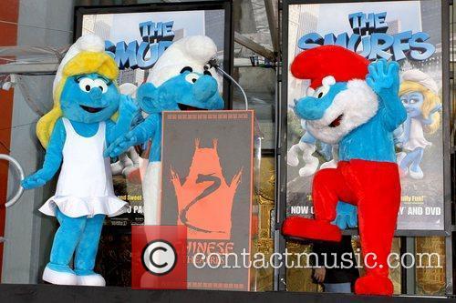 Smurfette, Clumsy Smurf, Papa Smurf The Smurfs historic...