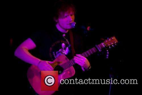 Music artist Ed Sheeran performs at Comerica Theater...