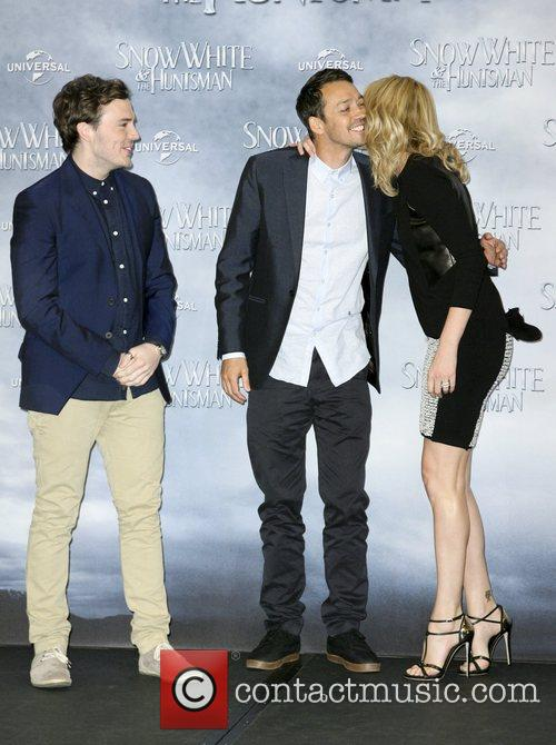 Sam Claflin, Rupert Sanders, Charlize Theron 'Snow White...