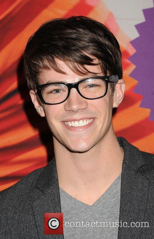Grant Gustin  'A Snow White Christmas' opening...