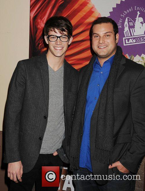 Grant Gustin and Max Adler  'A Snow...