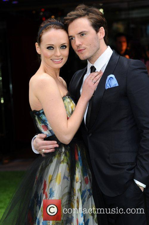 Laura Haddock and Sam Claflin 3