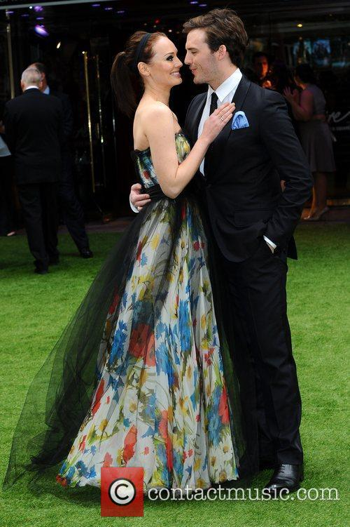 Laura Haddock and Sam Claflin 4