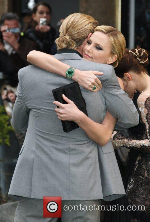 Chris Hemsworth and Charlize Theron World Premiere of...
