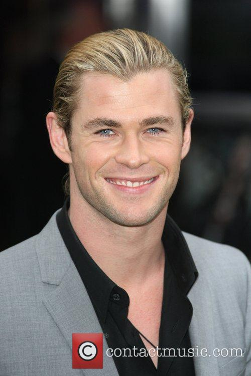 Chris Hemsworth World Premiere of Snow White and...