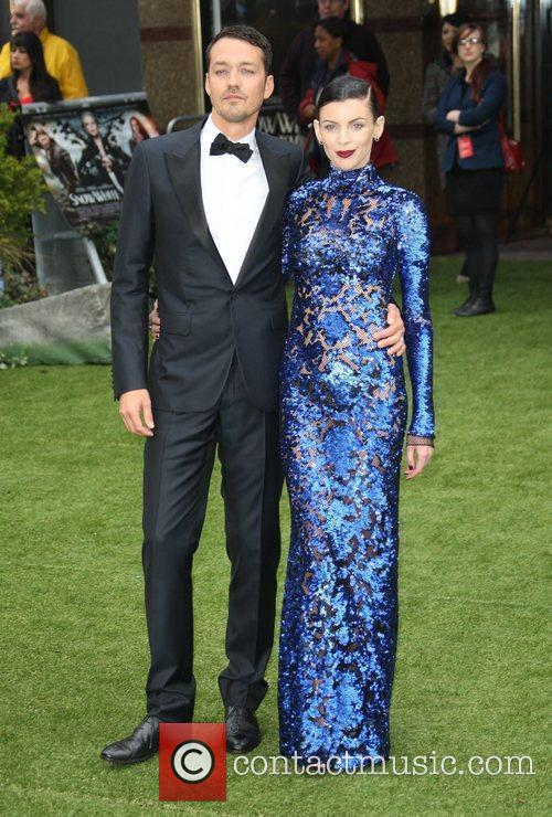 Rupert Sanders and Liberty Ross at 'Snow White and the Huntsman' premiere