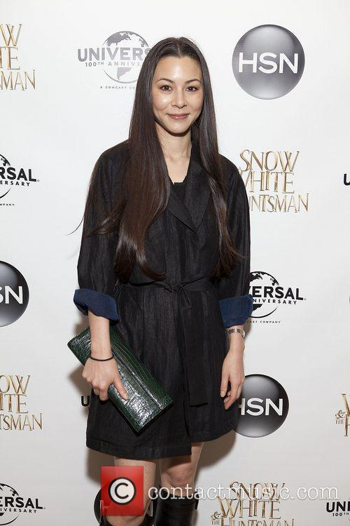 China Chow HSN Universal cocktail reception for 'Snow...