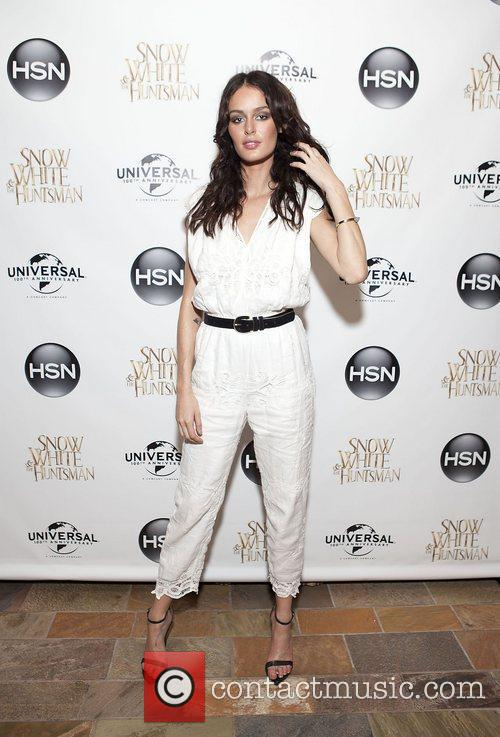 Nicole Trunfio HSN Universal cocktail reception for 'Snow...
