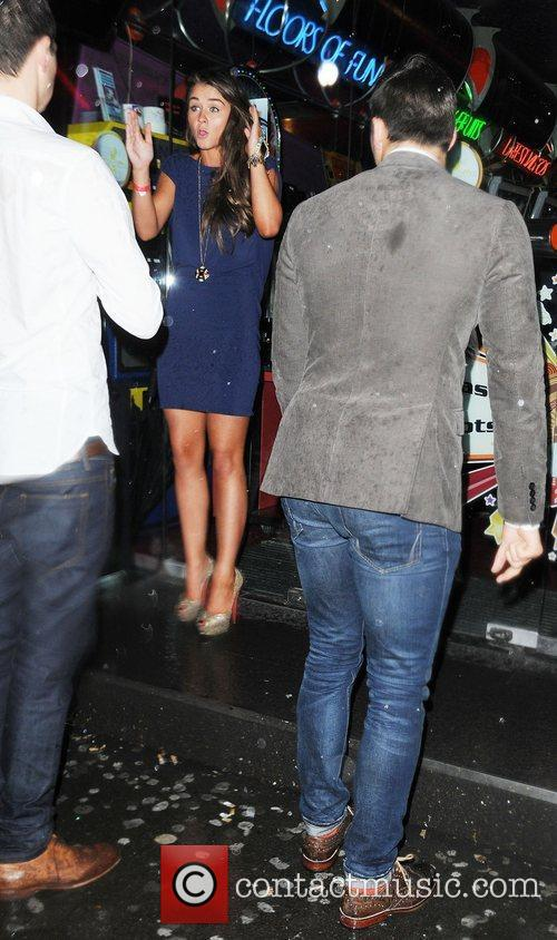 Brooke Vincent, Mark Wright and Cafe De Paris 5