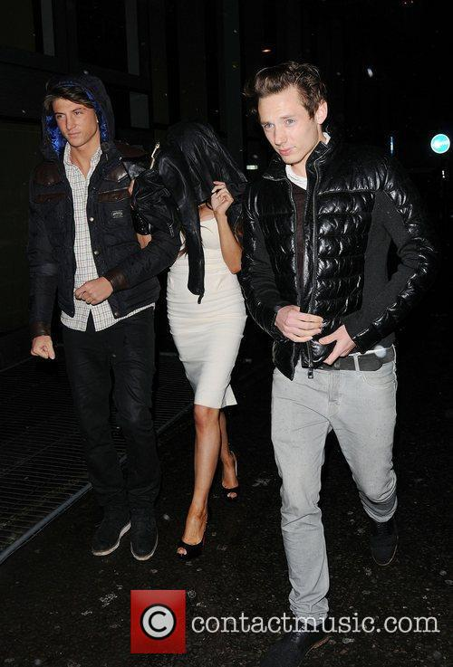 Chloe Sims, Mark Wright and Cafe De Paris 4