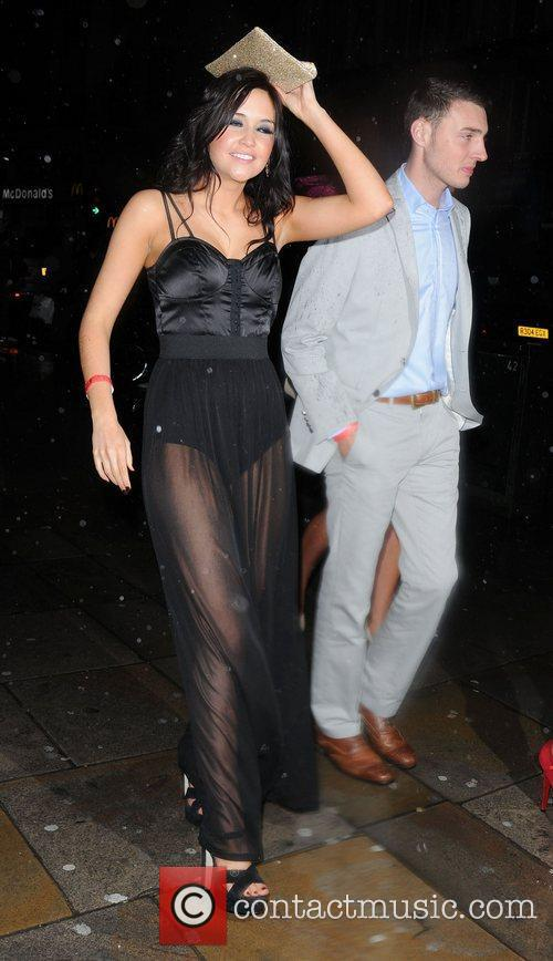 Jacqueline Jossa The British Soap Awards 2012 afterparty...