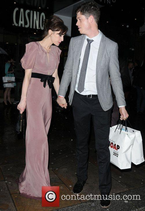 Katherine Kelly The British Soap Awards 2012 afterparty...