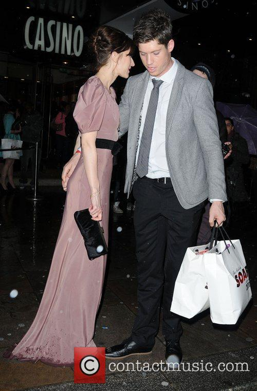 The British Soap Awards 2012 afterparty held at...