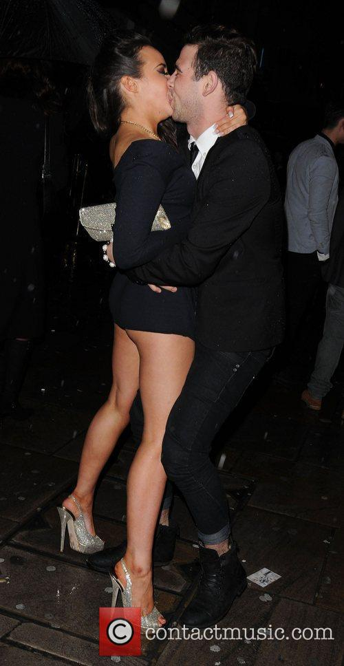 Stephanie Davies The British Soap Awards 2012 afterparty...