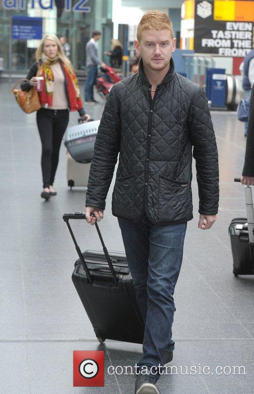 Mikey North boards a train at Manchester Piccadilly...