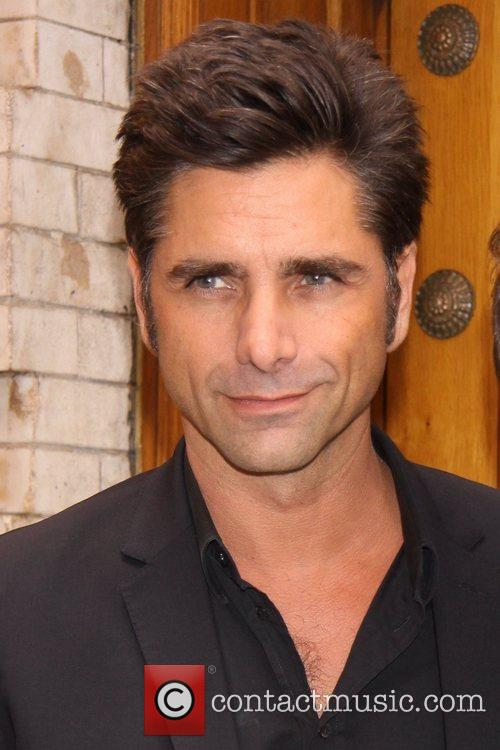 John Stamos spotted outside the reading of 'Soap...
