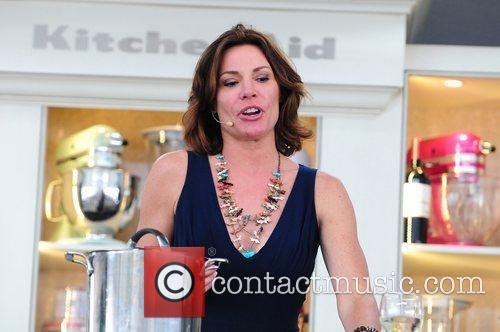 Countess LuAnn de Lesseps at the Whole Foods...