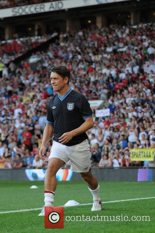 Mark Owen Soccer Aid 2012 in support of...