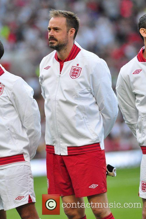 Jamie Theakston  Soccer Aid 2012 in support...