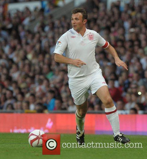 Jonathan Wilkes  Soccer Aid 2012 in support...
