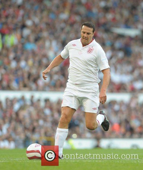 Paddy McGuiness  Soccer Aid 2012 in support...