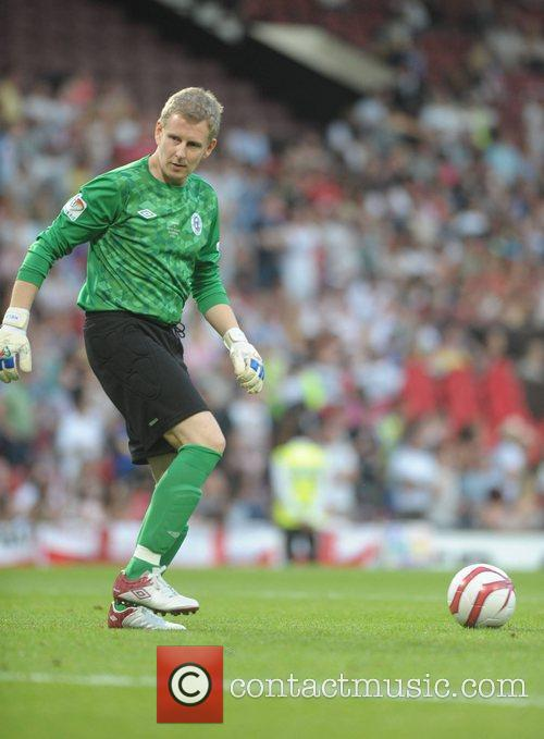 Patrick Kielty  Soccer Aid 2012 in support...