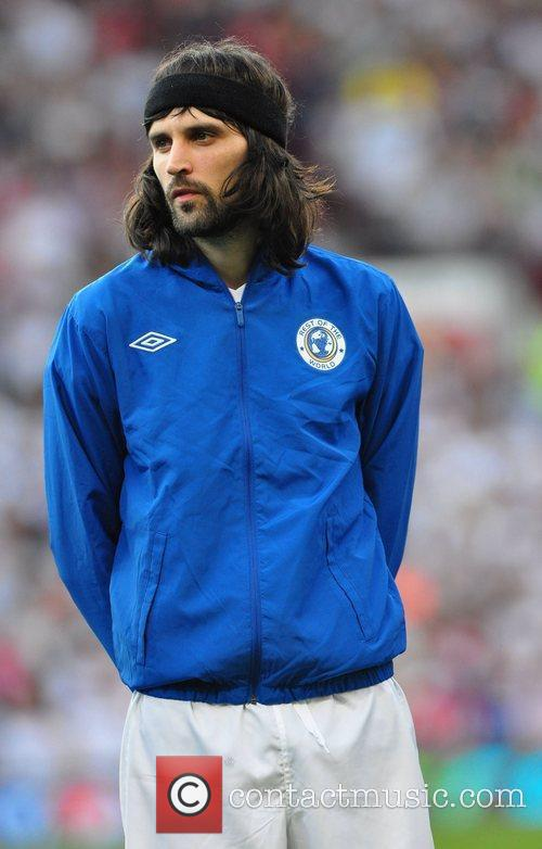 Serge Kasabian  Soccer Aid 2012 in support...
