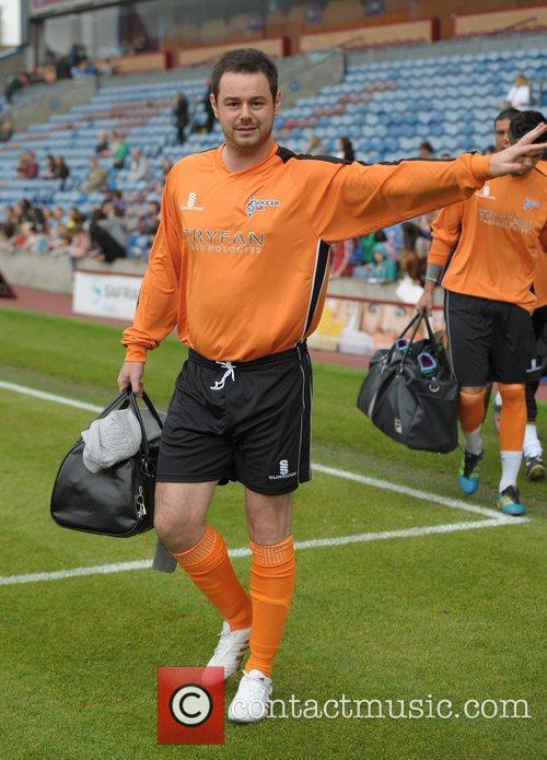 Danny Dyer  Celebrity Soccer Six - Burnley...