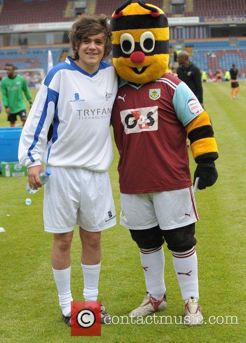 Frankie Cocozza Celebrity Soccer Six - Burnley at...