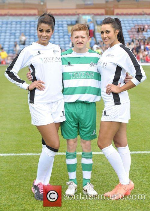 Sam Aston Celebrity Soccer Six - Burnley at...