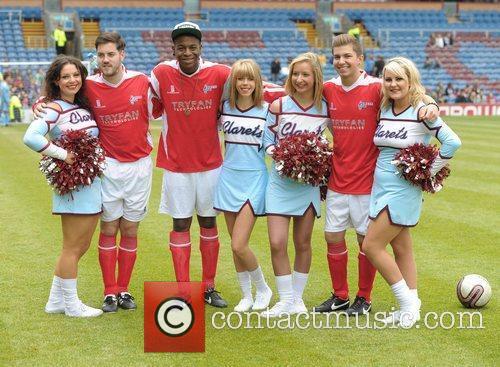 Celebrity Soccer Six - Burnley at Burnley Football...
