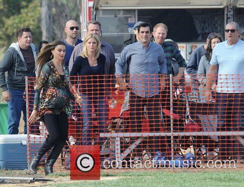 Sofia Vergara, Julie Bowen, Ty Burrell and Ed...
