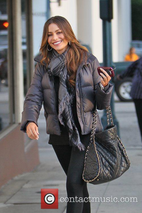 Sofia Vergara does some Christmas shopping at Neiman