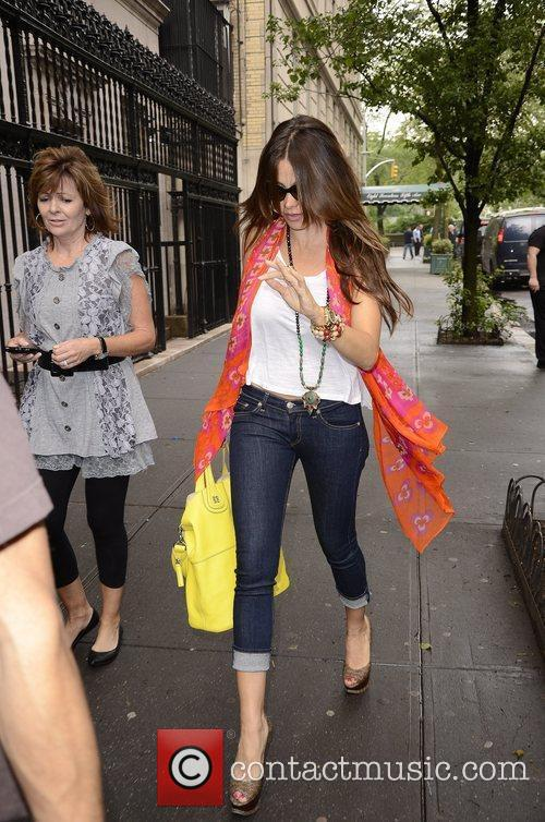 Sofia Vergara seen out and about in Manhattan...