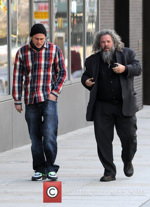 Charlie Hunnam and Mark Boone Junior 3