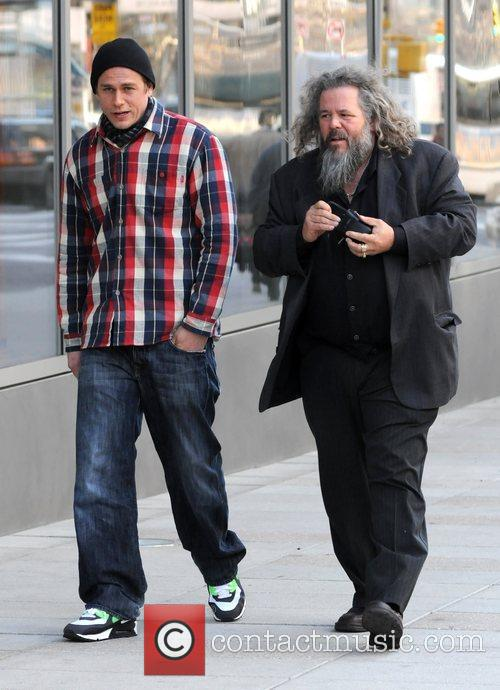 Charlie Hunnam and Mark Boone Junior 4
