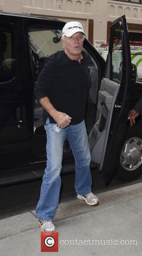 James Caan  Celebrities outside the Trump Soho...