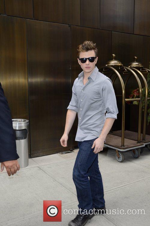 Glee and Chris Colfer 3