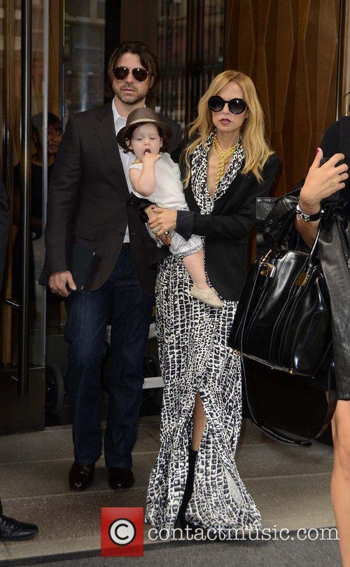 Rachel Zoe Rodger Berman and son Skylar Celebrities...