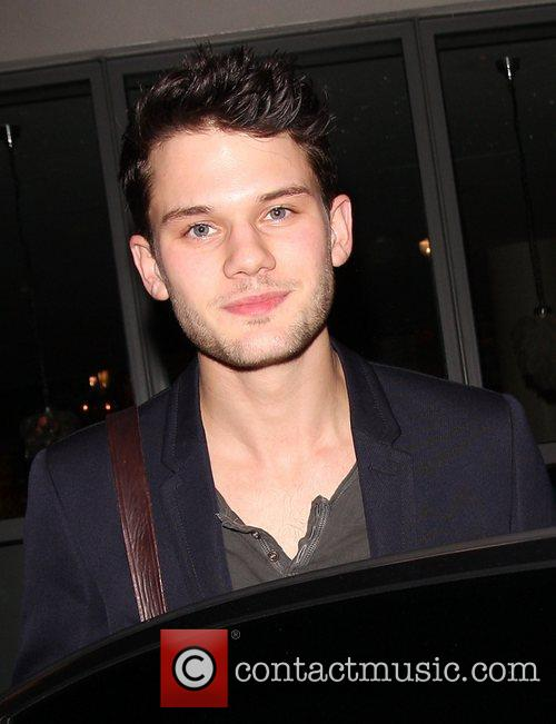 Jeremy Irvine Celebrities outside the Soho Hotel in...