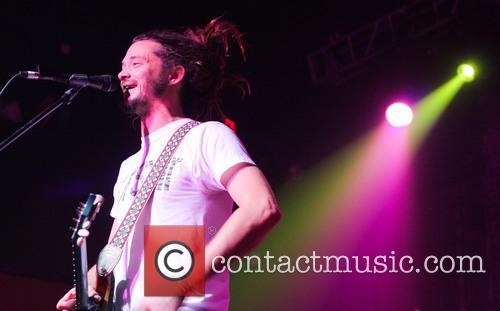 Jacob Hemphill SOJA perform live on stage at...