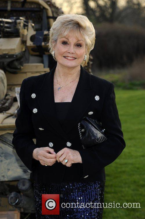 Angela Rippon Soldiering On Awards held at the...