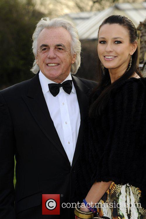 Peter Stringfellow and guest Soldiering On Awards held...