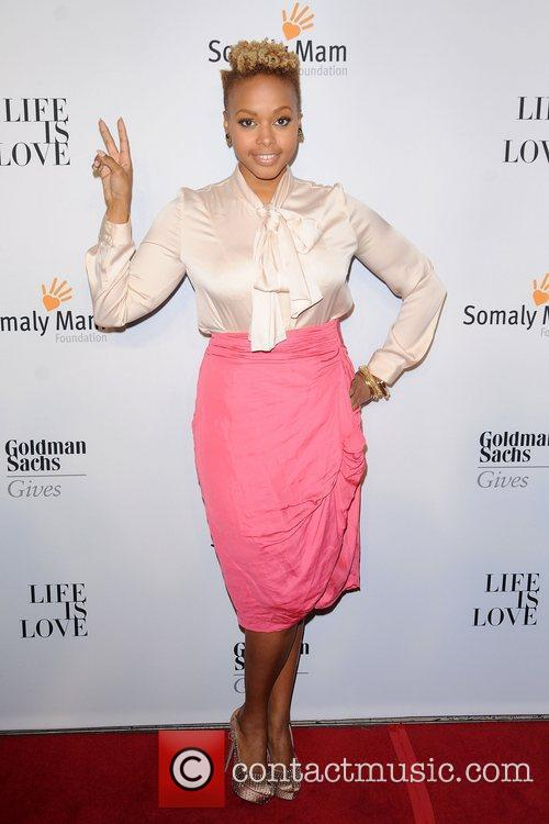 Chrisette Michele at the 2012 Somaly Mam Foundation...