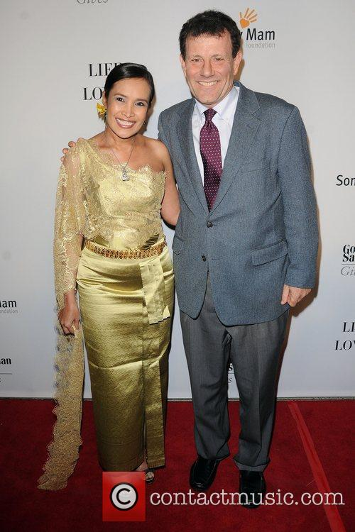 Somaly Mam and  Nicholas Kristof at the...