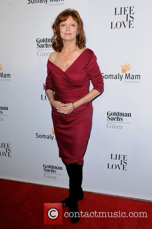 Susan Sarandon at the 2012 Somaly Mam Foundation...