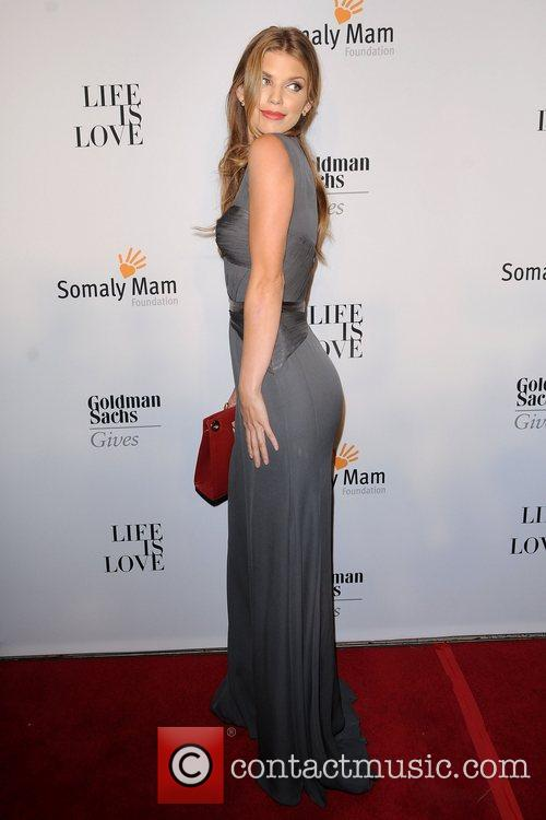 AnnaLynne McCord at the 2012 Somaly Mam Foundation...